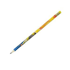 Lápis Preto Hot Weels Amarelo