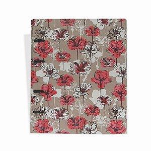 Caderno Argolado Flores