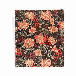 Caderno Argolado Vermelho Escuro