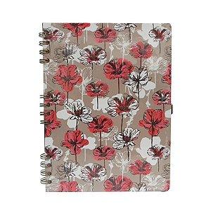 Caderno Médio Flores