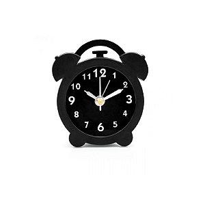 Mini Despertador Preto