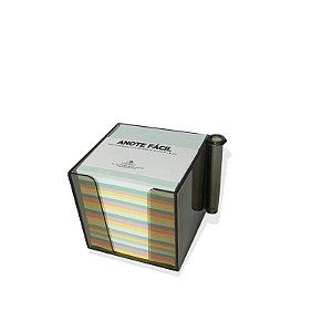 Bloco de Anotações Fume Colorido 74x74mm