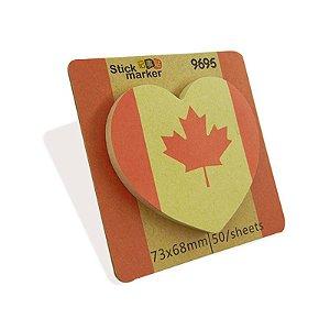 Bloco de Post It Canadá