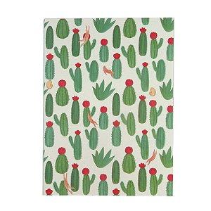 Caderninho Cactos Verde Escuros