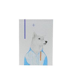 Bloquinho Cachorro Akita
