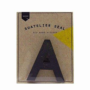 Adesivo Alfabeto Letra A