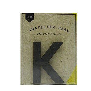 Adesivo Alfabeto Letra K