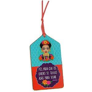 Tag de Madeira Frida