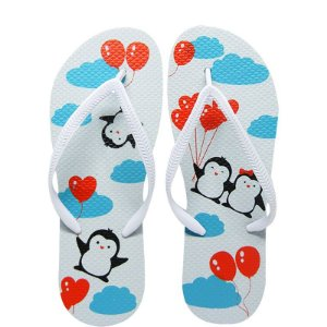 Chinelo Pinguim - Juntos Para Sempre - 37/38