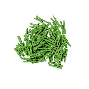 Pacotinho de Pregador Médio Verde