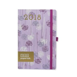 Agenda 2018 Flores Lilás