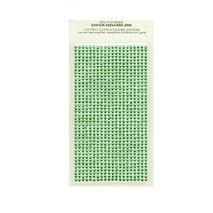Adesivo Strass 3MM Verde