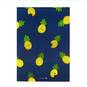 Caderno Brochura com Pauta Abacaxi