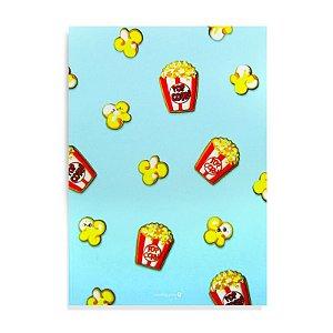 Caderno Brochura com Pauta Pipoca