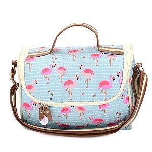 Bolsa Térmica Grande Flamingos