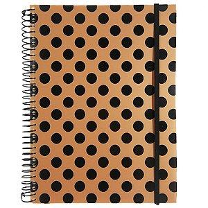 Caderno Universitário 192 Folhas Poá Ouro