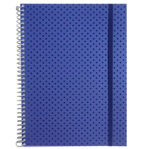 Caderno Universitário 192 Folhas Azul Marinho