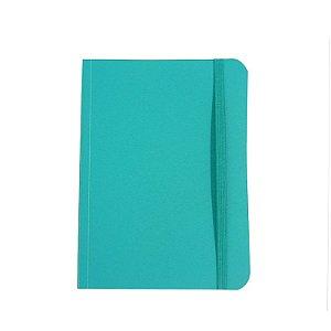 Caderno Médio Brochura 80 Folhas Verde Água