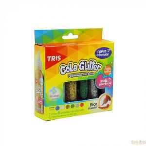 Cola Glitter 6 Unidades