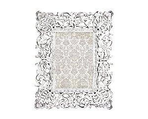 Porta Retrato Branco em Poliresina