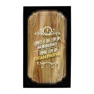 Quadro Porta Rolhas Champagne