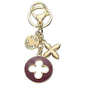 Chaveiro Forever Love Dourado