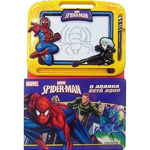 Livro e Lousa Mágica Homem-Aranha