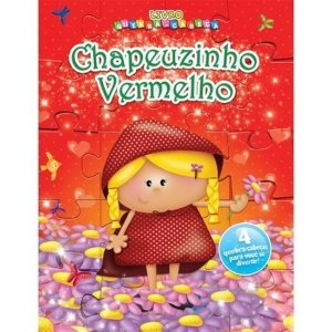 Livro Quebra-Cabeça Chapeuzinho Vermelho