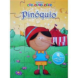 Livro Quebra-Cabeça Pinóquio