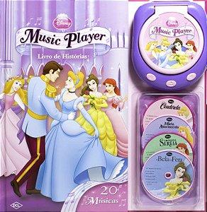 Livro de História com Music Player Princesas
