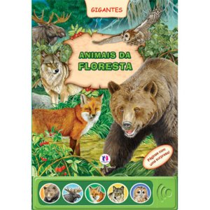 Livro Sonoro Animais da Floresta