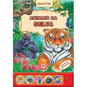 Livro Sonoro Animais da Selva