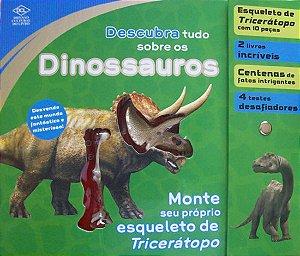 Kit Descubra Tudo Sobre Os Dinossauros