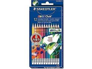 Lápis de Cor Apagável Staedtler 12 Cores