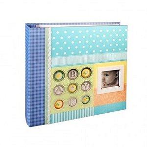 Álbum de Fotos Baby Janela Personalizável - 10 x 15cm