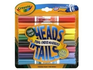 Canetinha Heads and Tails Hidrográfica Crayola