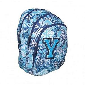 Mochila All-Yes Azul Bordada