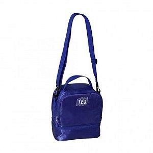 Lancheira Yes 2 Compartimentos Azul