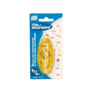 Fita Decorativa YES - Amarelo