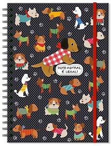 Caderno Cachorrinhos - 100 Folhas