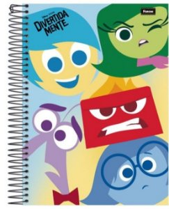 Caderno DivertidaMente 200 Folhas
