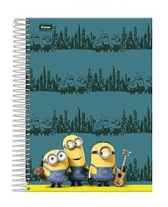 Caderno Minions 96 Folhas