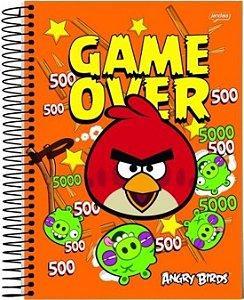 Caderno Angry Birds 200 Folhas