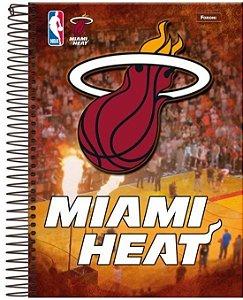 Caderno NBA 96 Folhas Miami Heat