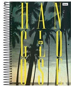Caderno Hang Loose 96 Folhas