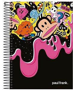 Caderno Paul Frank 200 Folhas