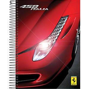 Caderno Ferrari 96 Folhas