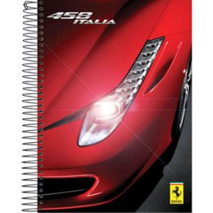 Caderno Ferrari 200 Folhas
