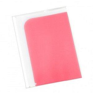 Pasta Apresentação com 8 Divisões Rosa com Branco