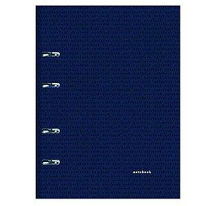 Caderno Fichário Corporate Grande Azul